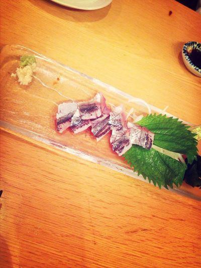旬の秋刀魚刺し
