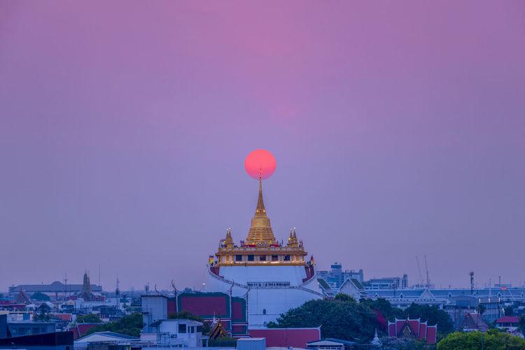SunSet in Bkk