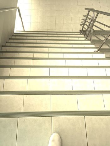 Going Down Stairs Steps Walk Walking Around Day Going Downstairs Human Foot Human Leg Indoors  Low Section One Person People Staircase Steps Steps And Staircases Walking