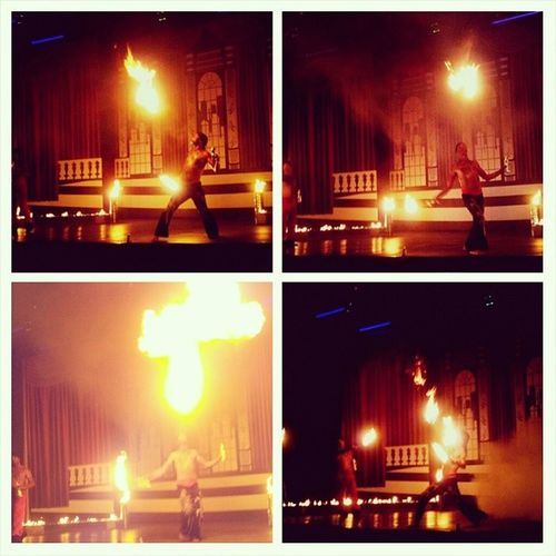 турция сиде шоу огонь пламя праздник отдых turkey side show fire flame holiday travel lights