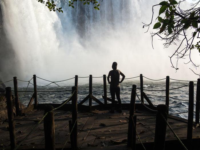 Lumangwe falls in zambia