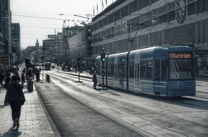 2019 Niklas Storm April City Railroad Track Public Transportation Railroad Station Platform Train - Vehicle Rail Transportation Railroad Station Commuter Train City Life Tramway Tram Track Train Track Street Scene Railway Station Platform Train Railroad Residential Structure Office Building My Best Photo The Art Of Street Photography