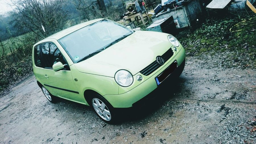 Lupo Blackline Green VW Car