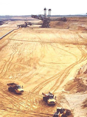 Coalmine Sand Digger Tagebau Fossil Energy Digging Amazing