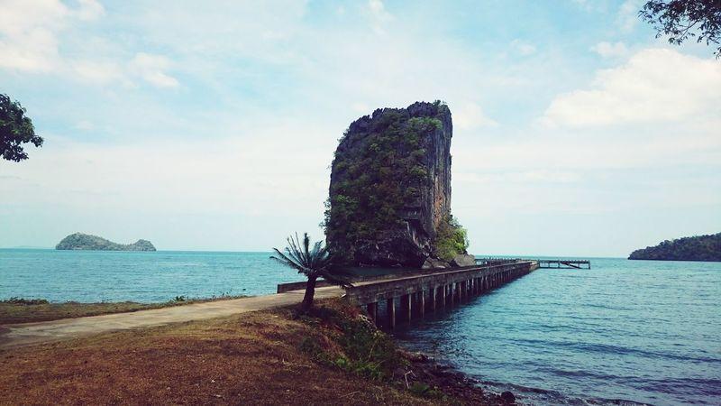 I studyed biology in Thai Spotted In Thailand Tarutaonationalpark Limestone Travel