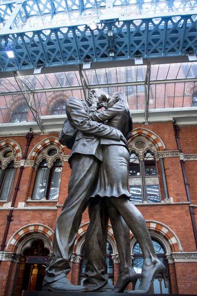EyeEm LOST IN London St Pancras St Pancras Station Architecture Day Human Representation Sculpture Statue