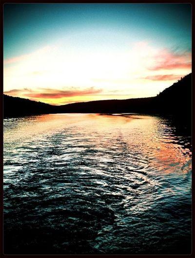 Water #sunset #sun #clouds #skylovers #sky #nature #beautifulinnature #naturalbeauty #photography #landscape Eye4photography  EyeEm Best Shots