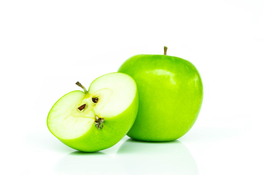 Green apple isolated on white background Apple Apple - Fruit Close-up Delicious; Delicious; Food; Fresh; Waffle; Breakfast; Dessert; Tasty; Pastry; Sweet; Bakery; Wafer; Plate; Snack; Fruit; Strawberry; Baked; Golden; Warm; Berry; Sugar; Crispy; Sauce; Homemade; Blueberry; Top View; Top Down Depth; Diet; White; Food; Food Food And Drink Freshness Fruit Full; Granny Smith Apple Green Color Health; Healthy Eating Healthy; Isolated; Nature; Organic; Raw; Ripe; Red; Grape; Crop; Vineyard; Fruit; Agriculture; Vine; Cabernet; Leaf; Plant; Green; Purple; Bunch; Blue; Cultivated; Nature; Autumn; Food; Wine Sweet; Vegetarian; White Background