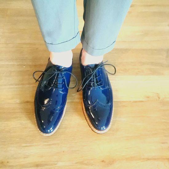 I Love Shoes Low Section Shoe Jeans Flat Shoe Shoelace