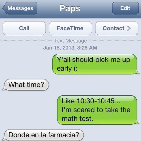 My dad is a badass haha