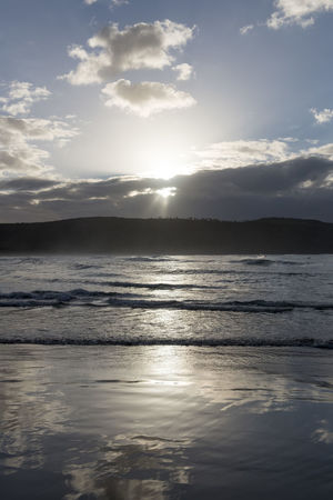 Australia Travel Beach Beauty In Nature Cloud - Sky Idyllic Land Nature No People Non-urban Scene Outdoors Reflection Scenics - Nature Sea Sky Sunlight Sunset Tranquil Scene Tranquility Travel Destinations Water Waterfront