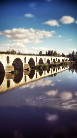 Bridge Reflection River Relaxing