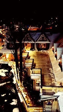 Zakopane Winter Snow Terrace Restaurant Rustic Rustic Style Moutains Galosikphotigraphere GalosikFotografę