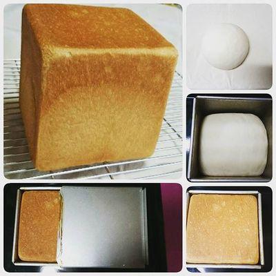 I made bread for breakfast🍞☺ Pullmanloaf PainDeMie Freshbread Bread Dough Savory Bakingbread OvenBaked Homebaked Homebaking Whatibakedtoday Homemadeisalwaysbest Breadporn Inthekitchen Breadstagram Bakeday