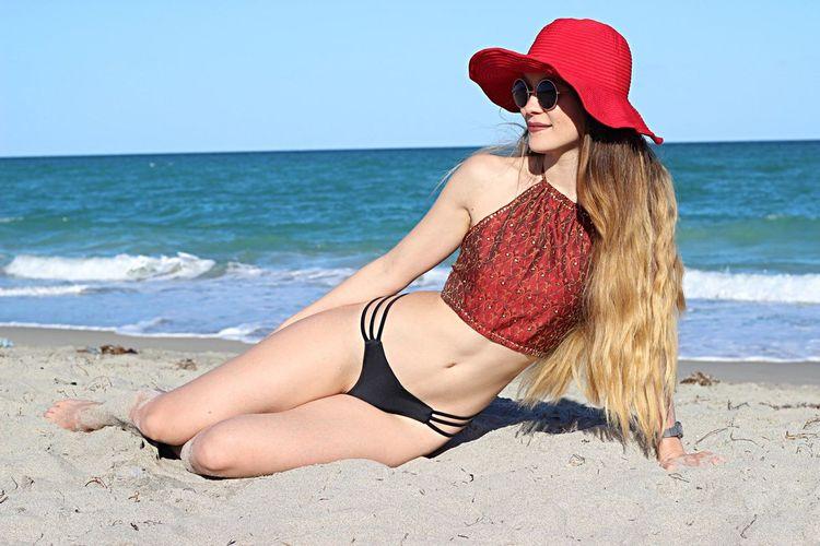Manager of life Summer Cute Beach Sea Land Water Clothing Swimwear Inner Power Bikini Young Women Women Beauty In Nature Lifestyles