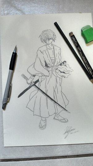 Art Samurai Sketch