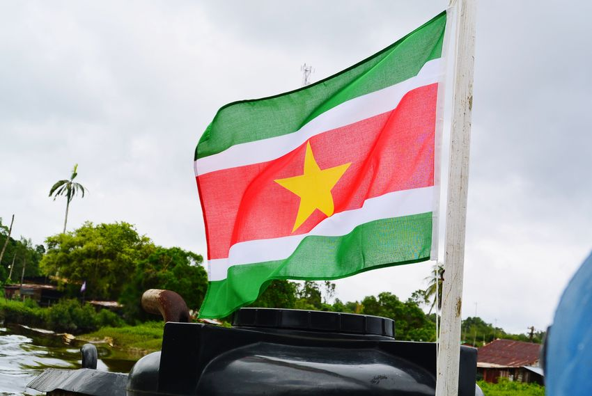 🇸🇷❤️❤️🌴|| Spamming, sorry not sorry.😁😂 || Suriname Outdoors Flag 📷Nikon EyeEmNewHere Multi Colored No People