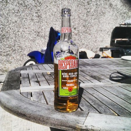 Sun is out, highly recommended! 👌❤ Desperados Tequila