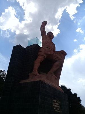 Heroes Pípila Mexico Guanajuato The Architect - 2018 EyeEm Awards Sculpture Statue City Sky Architecture #urbanana: The Urban Playground