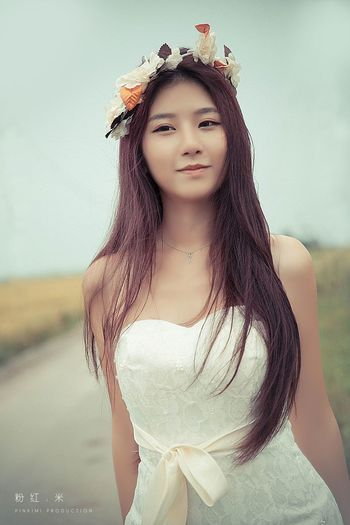 Potrait Colorportrait Beauty Weddinggown