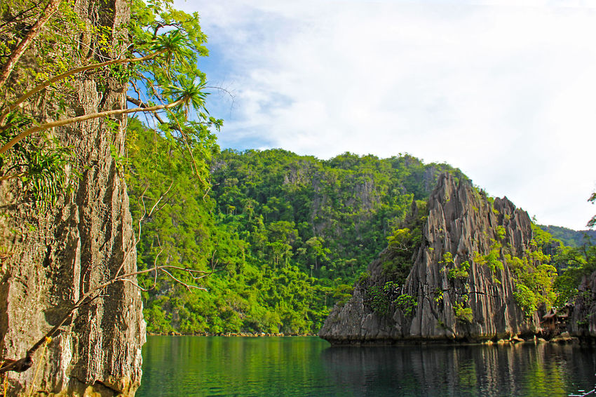 Adventure Backgrounds Beauty In Nature Coron, Palawan IPhoneography Lake Landscape Nature Outdoors Philippines Reflection Lake Scenics Sky Tourism Tranquility Travel Destinations Vacations Water Wonderful
