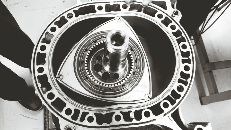 Rotary Rotor 13b Rx8 Engine