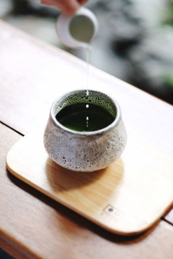 Matcha Greentea Greentea Matcha Green Tea Matcha Food And Drink Drink Cup Refreshment Mug Tea Table Close-up Coffee Hot Drink Coffee - Drink Indoors  Coffee Cup Freshness Still Life No People Green Tea Tea - Hot Drink Wood - Material Tea Cup