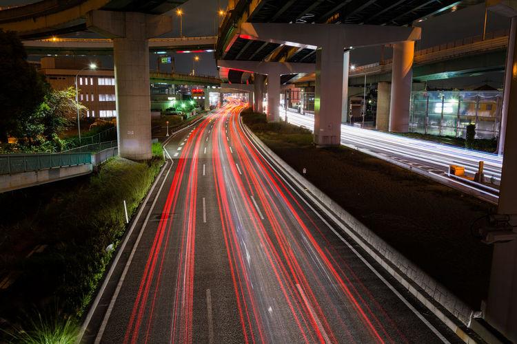 Laser beam Road
