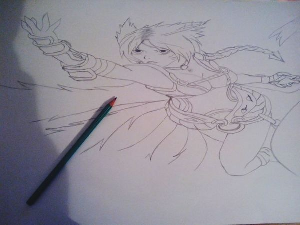 ?Drawing League Of Legends Ahri