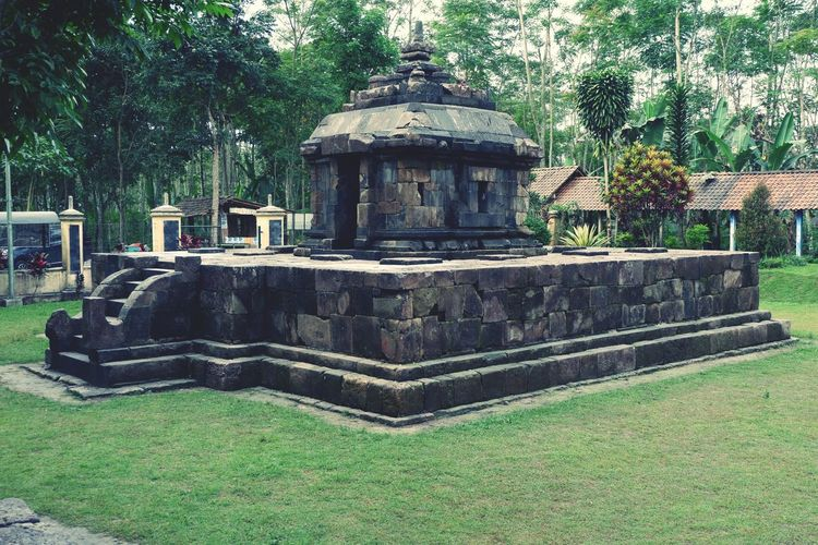 Candi Klero Temple Buddha  Temple Plant Tree Green Color Architecture Nature Built Structure Day Outdoors Religion