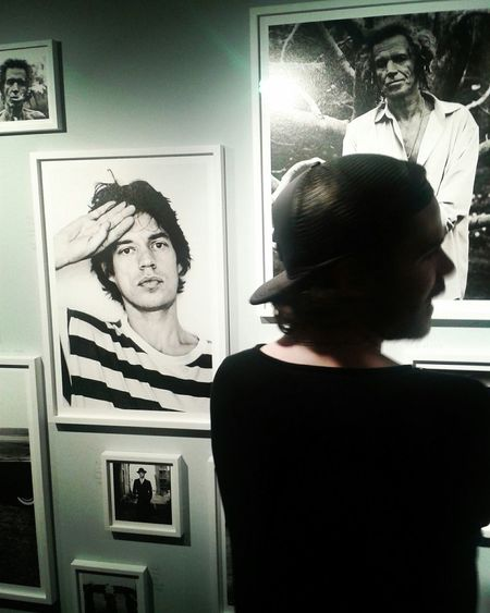 Antoncorbijn Photography Art Exhebition Opening Day Berlinstagram Mickjagger Peoplephotography