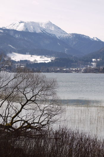 Bayerische Alpen Tegernsee Wintertime Day Nature No People Outdoors Springtime Water