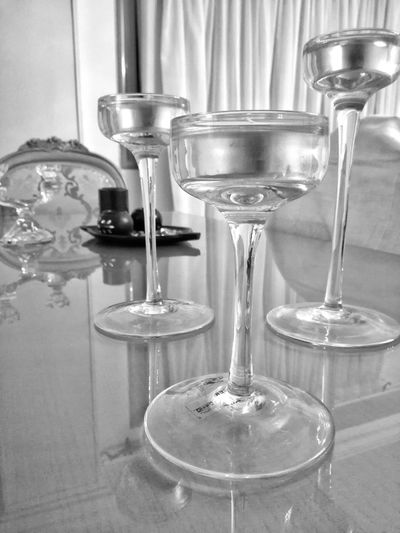 Indoors  Mobilephotography Drinking Glass Black & White