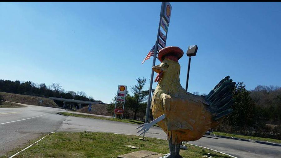 Big Chicken Truck Stop Elkton Mississippi  USA