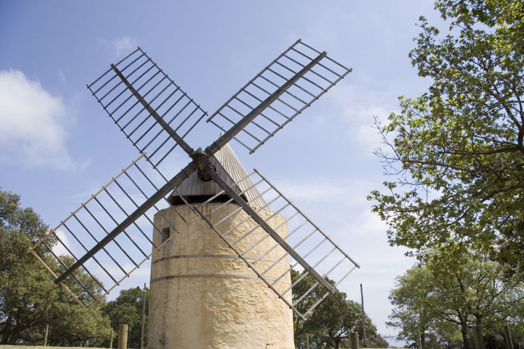post mill - french riviera, mediterranean sea Alternative Energy Ancient Environment Environmental Conservation France Fuel And Power Generation Gassin Historical Building Landmark Low Angle View Mill Milling Nature No People Old Old Ruin Post Mill Provence Renewable Energy Sky Technology Wind Wind Power Wind Turbine Windmill