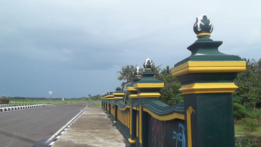 Javanese Roadside Java Javanese Culture Jogjakarta Road Yogyakarta Yogyakarta, Indonesia Architecture Day Javanese Javanese Ornament Jogja Jogjaistimewa Nature No People Outdoors Rijall Rijall Blues Rijallblues Roadside Sky Statue Yellow