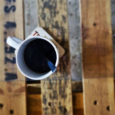 Coffee Coffee - Drink Coffee Cup Cup Food And Drink Morning Coffee Table Wood - Material