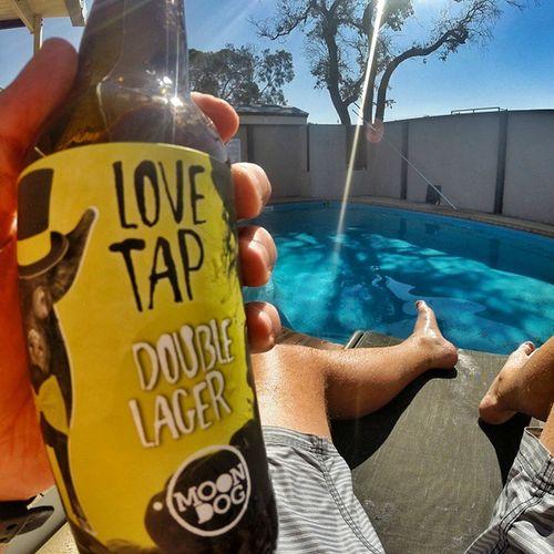 Kick... Back.. Chill Lovetap Moondog Beer craftbeer gopro