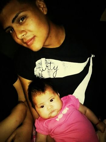 you knoe just chilling with my daughter watching movies ! #she #fat #just #like #i #was #when #i #was #little