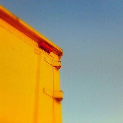 yellow hinge Door Truck Color Yellow Sky Skymadness Picoftheday Photooftheday Pictureoftheday Instanusantra Instanusantarabali Instanesia Igers Bali INDONESIA LangitBaliPhotowork
