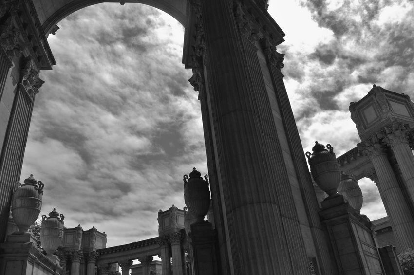 San Francisco The Palace Of Fine Arts, SF Black And White Antique Abstract Black & White The Architect - 2016 EyeEm Awards