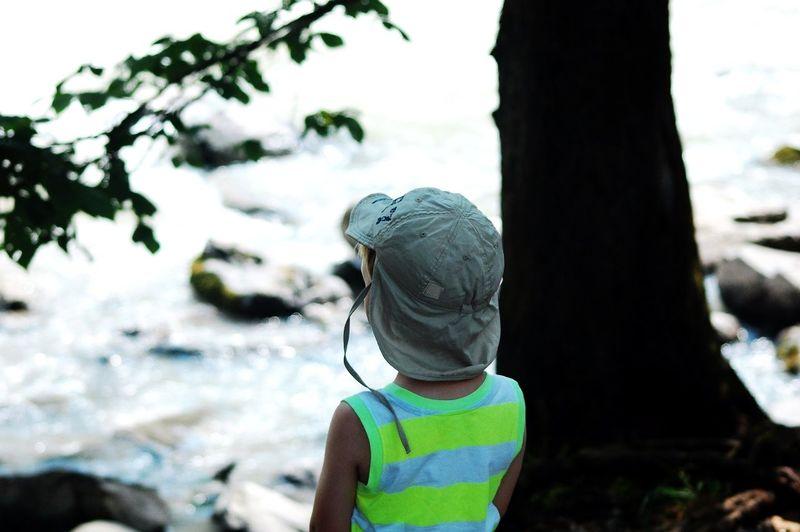 Little boy in the Breitachklamm One Person Outdoors Nature Breitachklamm One Boy Only Children Only Childhood Wundervollesallgäu