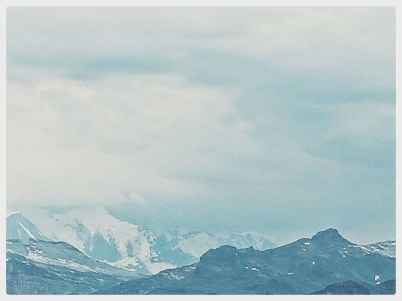 EyeEm Nature Lover EyeEm Best Shots Mountain Range Mountains And Sky Hiking Adventures My Favorite Place Taking Photos Alps Montagne Mont Blanc View Color Palette Landscapes Ice Age The Great Outdoors - 2017 EyeEm Awards