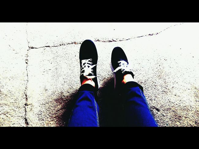 That's Me Black кроссовки Legs Jeans Whight Girl EyeEm