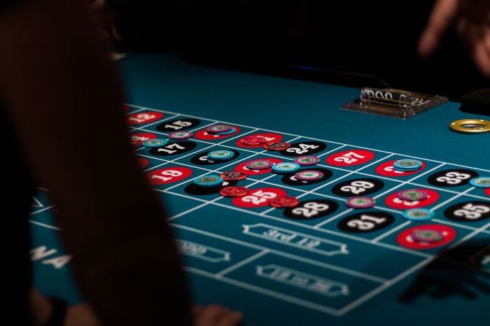 Atlantic City Casino Colour Of Life Depth Of Field Gambling Leisure Activity Lifestyles Roulette Roulette Table Selective Focus Unrecognizable Person