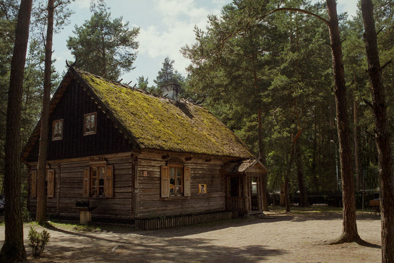 Forest History Hut Kurpie Old Buildings Old Cottage Rural Thatch Thatched Cottage Thatched Roof