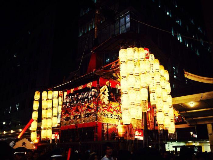 楽しかった祇園祭∩^ω^∩★