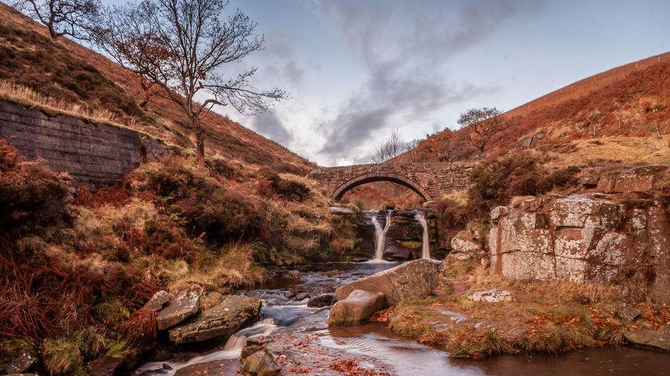Three Shires Head waterfall Beauty In Nature Cheshire Derbyshire Flowing Flowing Water Nature River Rock - Object Scenics Staffordshire Stream Three Shires Head Water Waterfall Waterfalls