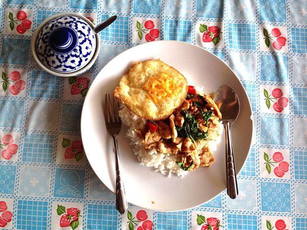 Food Thai Food Thailand Bangkok Bangkok Thailand. Foodphotography Food Photography Foods Foodstagram Food On The Go Egg Fried Egg