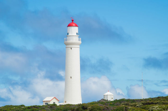 Cape Nelson Lighthouse near Portland in Victoria, Australia. Australia Australian Landscape Beacon Day Great Ocean Road Guidance Landmark Landscape Light House Lighthouse Lighthouse Navigation No People Outdoors Sky Tower Victoria